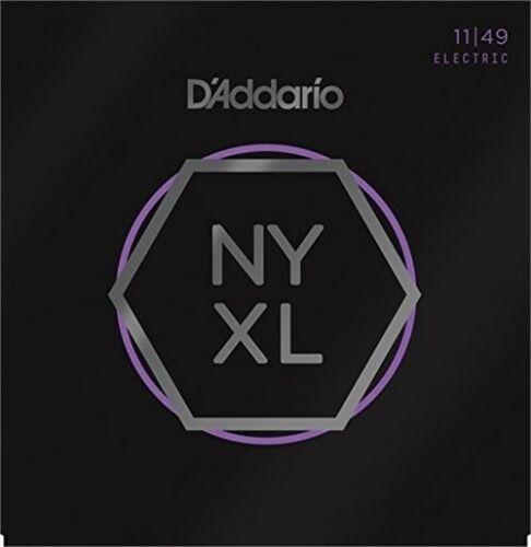 11-49 D/'Addario NYXL1149 Nickel Wound Electric Guitar Strings Medium