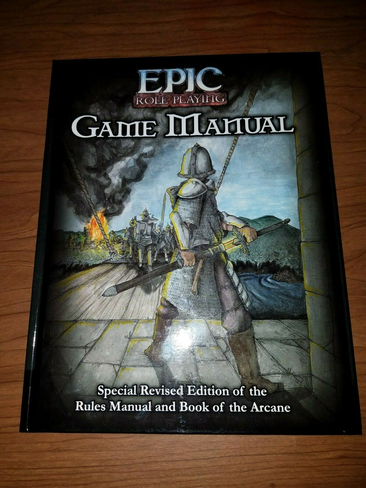 Dark Matter Games  Epic Roll Playing HC - GAME MANUAL (Revised Rules + Book of t
