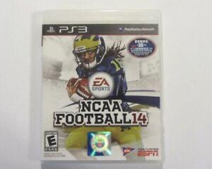 NCAA FOOTBALL 14 PS3 (PlayStation 3) 2014 NCAA TESTED WORKS GREAT 🏈