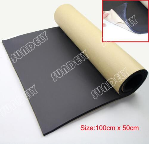 1Roll sound proofing /& heat insulation sheet closed cell foam size 100cm x 50cm