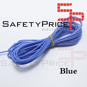10//0.1 mm conexión Stranded circuito Wire Azul 10 Metros
