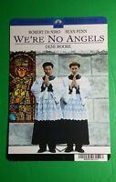 We're No Angels De Niro Penn Cover Art Mini Poster Backer Card (not A Movie )