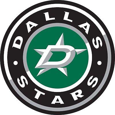 Dallas Stars Hockey Vinyl Sticker Decal for Cornhole Laptop Car