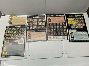 Vintage-Hasbro-Gi-Joe-File-Cards-Spirit-Grand-Slam-Viper-Dialtone