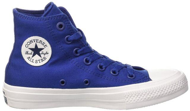 Gdzie mogę kupić przedstawianie odebrać Converse Chuck Taylor All Star II 2 Hi 150146c Lunarlon SODALITE Blue Sz 10