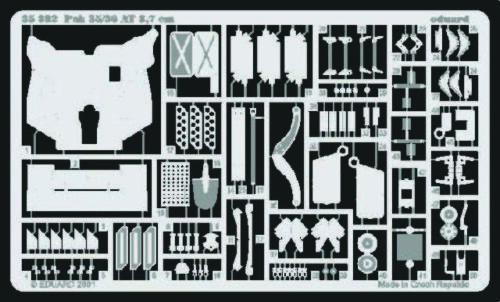 Eduard Accessories 35392-1:35 Pak 35//36 3,7 cm Für Tamiya Bausatz 35035 Ätzs