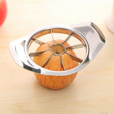 Stainless Steel Home Kitchen Tool Vegetable Fruit Apple Pear Cutter Slicer Knife
