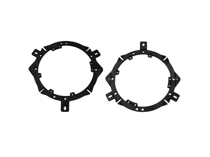 aftermarket car door speaker factory mounting adapter bracket mounts plate ring