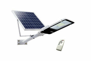 Faro-led-lampione-stradale-200W-luce-fredda-pannello-solare-staffa-crepuscolare