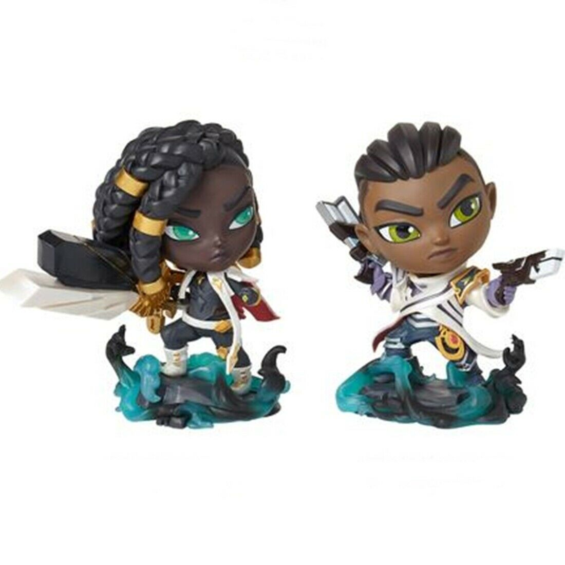 ny League of Legends Senna Lucian Duo Action Figur Collectible Riot Officiell