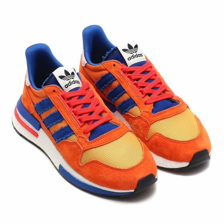 Adidas Original limited collaboration dragon ball ZX500 RM DB GOKOU SIZE 7 NEW