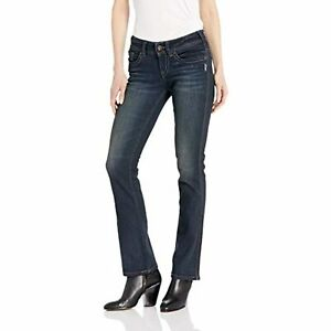 Silver Jeans Womens Standard Co Womens Suki Curvy Fit Mid Rise Slim Bootcut Jeans