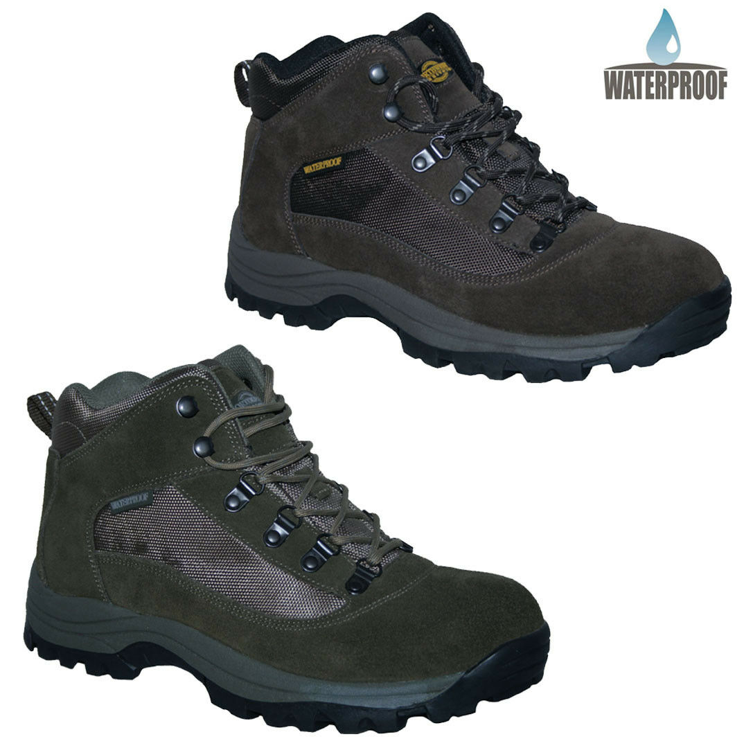 NORTHWEST TERRITORY TERRAIN II WATERPROOF WALKING BOOTS 2 COLOURS SIZES 7 - 12