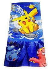 Pokemon Go Pikachu Beach Towel Washcloth Bathing Bathroom Towel