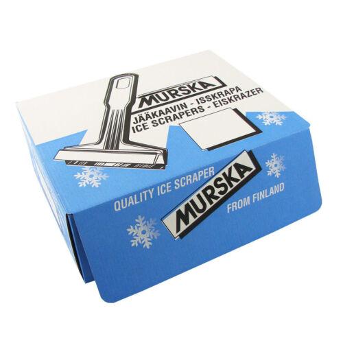 2 Stück Eisschaber Eiskratzer Messing Schaber  MURSKA Original aus Finnland