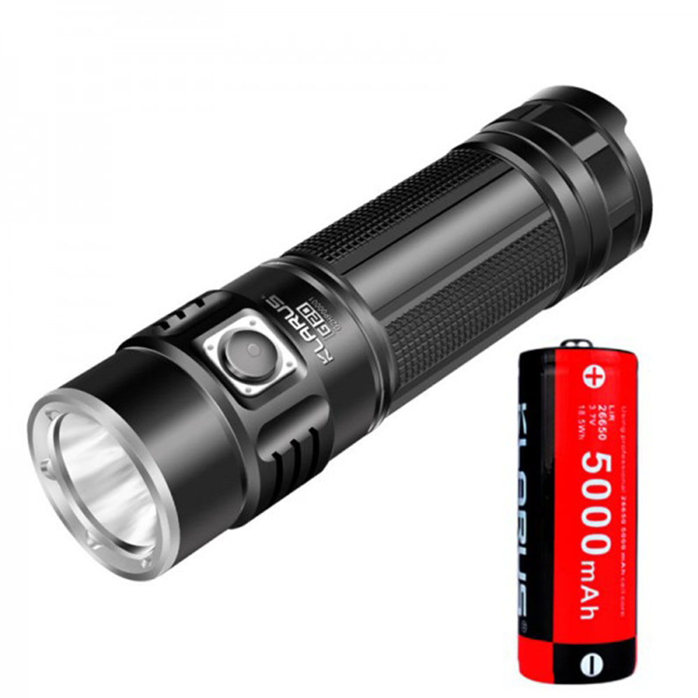 Klarus G20 3000LM 5000mAh Rechargeable Battery XHP70 N4 LED Search Flashlight