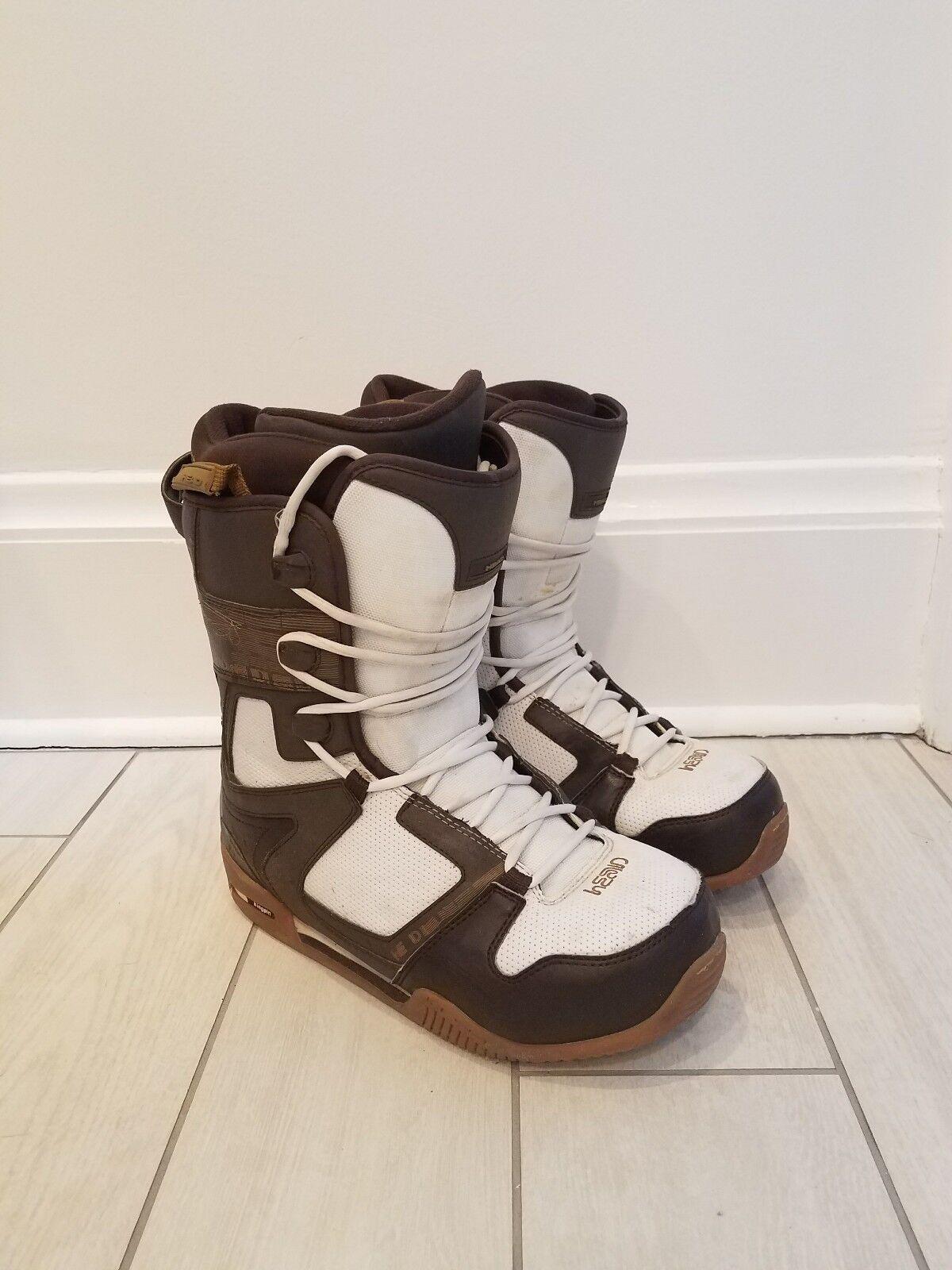 Head Kingpin Snowboard boots as 10