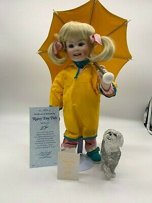 """Hamilton Collectible Doll /""""Winter Angel/"""" by Donald Zolan"""