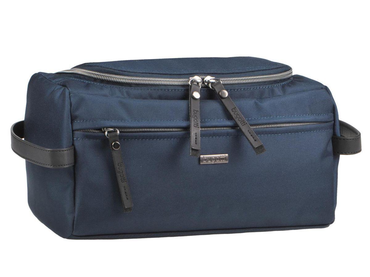 Bugatti culture sachet de de de lavage Sac pour Décoration Messieurs Moderne Bleu Contra rythme f64e9a