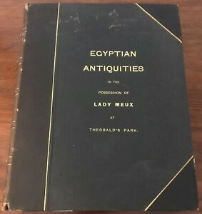 Budge Collection of Egyptian Antiquities in the British Museum Lady Meux rare