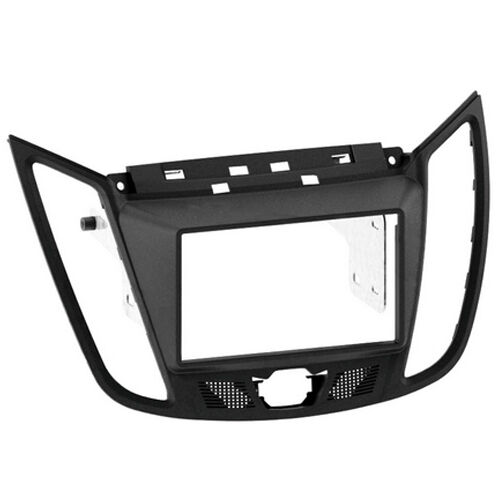 CT23FD30 FORD C-MAX 2011 ONWARDS DARK GREY DOUBLE DIN FACIA ADAPTER PANEL