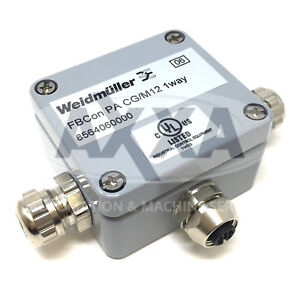 Details about Standard Distributor 8564060000 Weidmuller FBCon PA CG/M12  1way