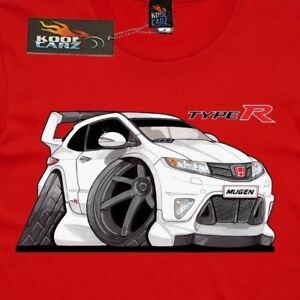T Shirt Honda Civic Type R Jap Imports Hot Hatch As Colour Shirt