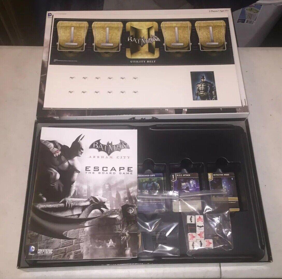 Cryptozoic Entertainment-Dc-Arkham City Escape Juego De Mesa-abierto y sin jugar