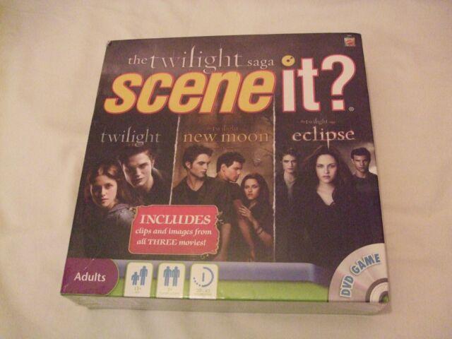 The Twilight Saga,Scene it, DVD Adult  Board Game 2010 twilight,new moon&eclipse