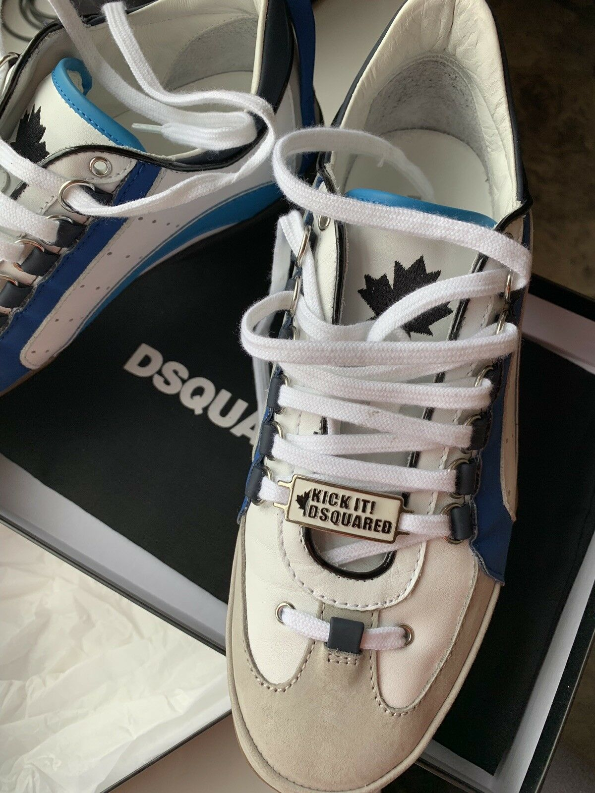 Mens Sneakers - Trainers Dsquared2 EUSize 41
