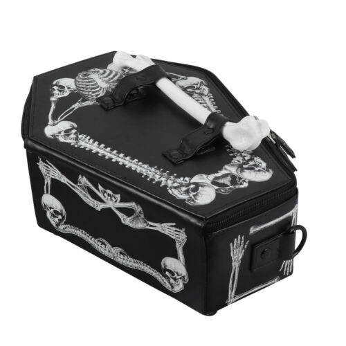 Details about  /1 Pc Skull Bat Bag Portable Personality Harajuku Style Crossbody Bag for Women