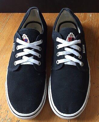 Zapatos negros DUFFER ST GEORGE Orion Talla 8 Lienzo Skate