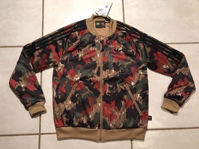 74452b00b9eb2 NWT ADIDAS Pharrell Williams Human Race Camouflage Jacket Women's Medium
