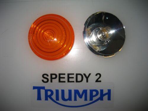 TRIUMPH BONNEVILLE T120 T100 THRUXTON STREET CUP INDICATOR LENS BULB HOLDER 2016