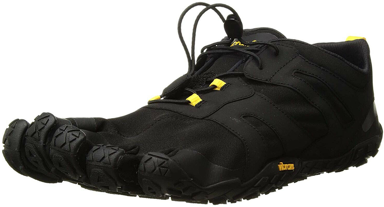 Vibram Fivefingers V-Trail 2.0 Hombre Trail Running Zapatos-Negro