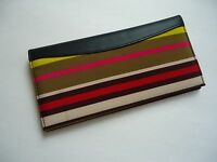 Fairlane Checkbook Wallet, Stripe