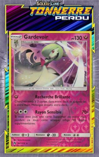Gardevoir Reverse 141//214 Carte Pokemon Neuve Française SL08:Tonnerre Perdu