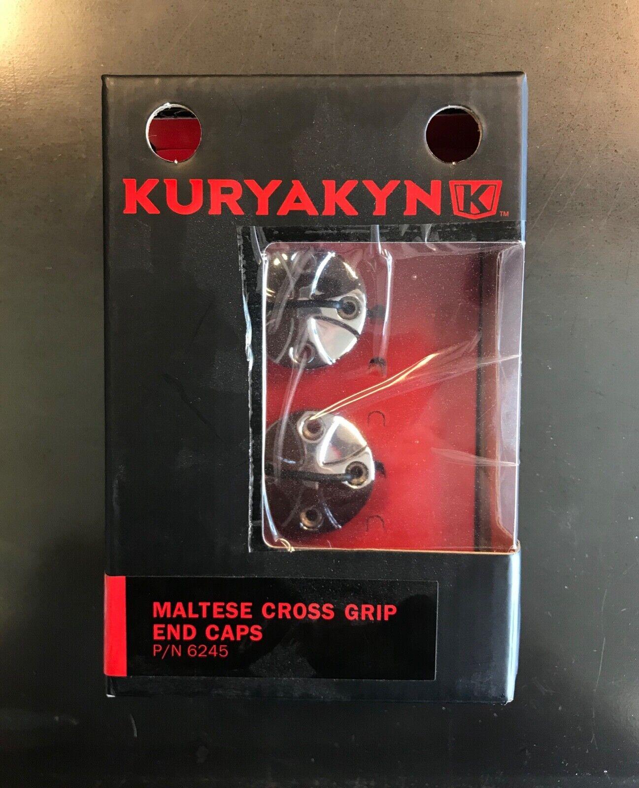 Kuryakyn 6245 Maltese Cross End Cap