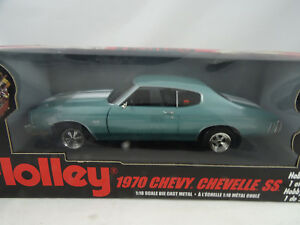 01:18 Ertl # 36983 Holley 1970 Chevy Chevelle Ss - Rare