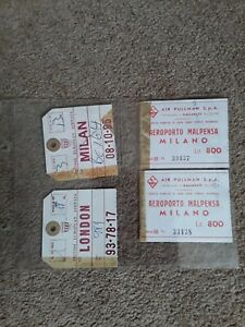 1960 airport tickets