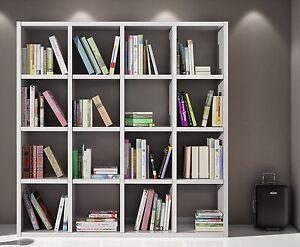 Libreria Moderna Bianca.Dettagli Su Libreria Moderna Bianca