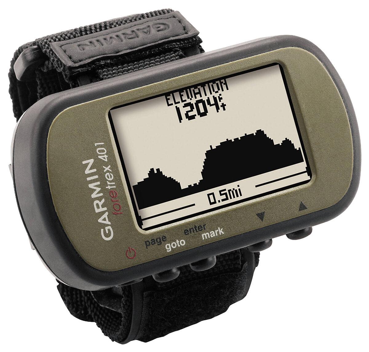 Garmin Foretrex 401 Sistema Waterproof Hiking Gps Sistema 401 W electrónico Brújula Altímetro ee6587