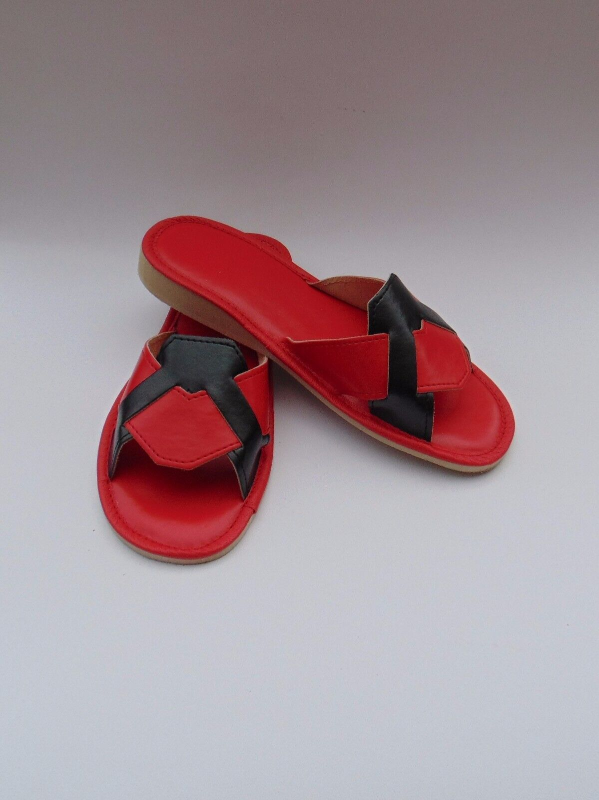 Ladies soft leather slippers*ORIGINAL 5,6,7,8 EU HAND MADE PRODUCT*sizes 5,6,7,8 slippers*ORIGINAL 92982a