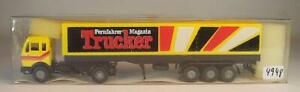 Roskopf RMM 1/87 Mercedes Benz Sattelzug Pr/Pl SoMo für TS Truck-Store OVP #4948