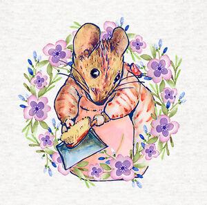 Beatrix Potter Squirrel Fabric 100/% Cotton