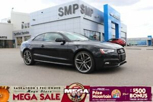 2017 Audi S5 Dynamic Edition - AWD, Winter Tire Pkg, Navigation, Sunroof, Leather