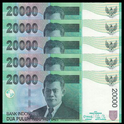 INDONESIA 20000 20,000 RUPIAH 2004//2008 P 144 UNC