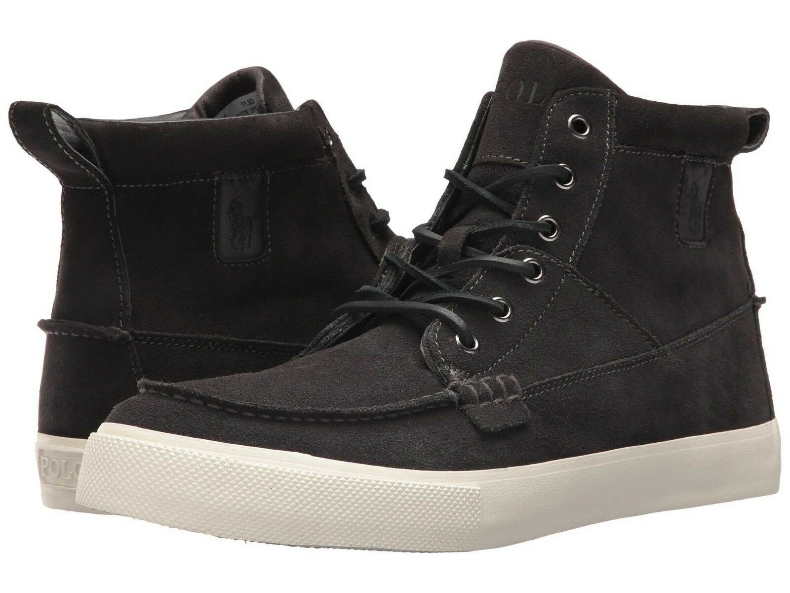 Senza tasse Polo Ralph Lauren Lauren Lauren Uomo Tavis-Sk-Vlc High Top leather scarpe da ginnastica stivali SZ  9  scelte con prezzo basso