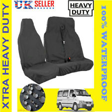 HEAVY DUTY GREY VAN SEAT COVERS 2+1 for FORD TRANSIT 06-13 MK7 PANEL VAN