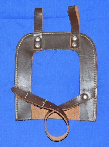 Leather Carrier CASE for WW2 TRENCH Tool SHOVEL